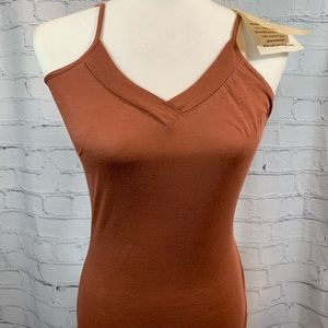 Alternative Orange Label Pima Cotton Henna Tank